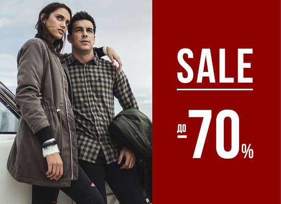 SALE UP TO 70% IN SPRINGFIELD STORES.