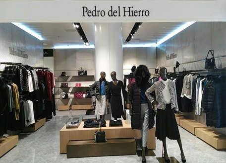 <p>Boutique Pedro del Hierro is opened in main department store of the country. Now fans of the brand can find the latest collections of favorite clothes, shoes and accessories in renewed TSUM. Corner Pedro del Hierro is a place with special atmosphere, beautiful interior and consistently high service level.&nbsp;</p>
