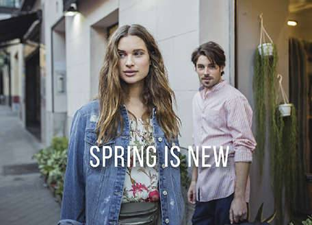 <p>Pastel colors, stripes, floral prints and, of course, the beloved denim ... Meet all the latest trends of the season in a new collection of clothes and accessories at SPRINGFIELD:</p><p>&nbsp;</p>